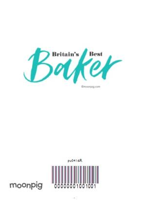 Greeting Cards - Britain's Best Baker Spoof Magazine Personalised Photo Upload Birthday Card - Image 4