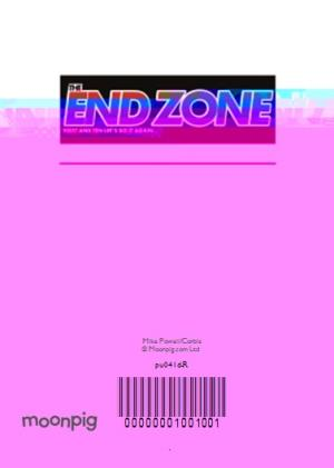 Greeting Cards - End Zone Magazine Parody Personalised Photo Upload Father's Day Card - Image 4
