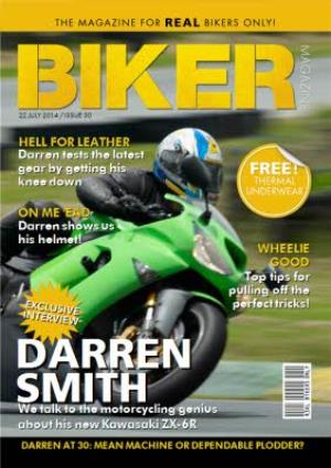Greeting Cards - The Magazine For Real Bikers Only Personalised Card - Image 1