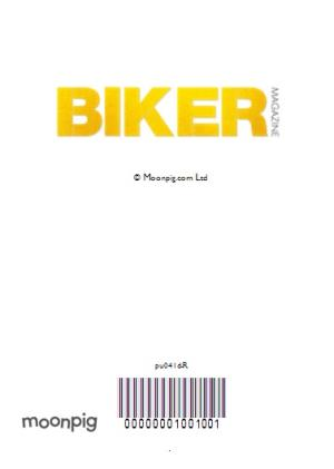 Greeting Cards - The Magazine For Real Bikers Only Personalised Card - Image 4