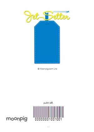 Greeting Cards - Jet-Setter Magazine Personalised Card - Image 4