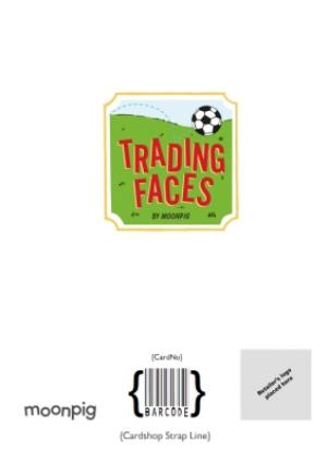 Greeting Cards - Birthday Card - Face In The Hole - Male - Photo Upload - Sport - Football - Image 4