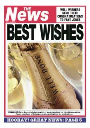 Greeting Cards - Congratulations Card - Magazine Parody - Image 1