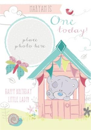 Greeting Cards - First Birthday Photo Card - Tatty Teddy - Image 1