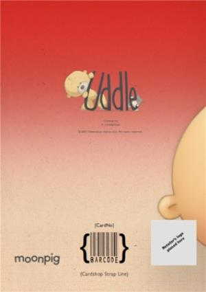Greeting Cards - Adorable Cuddle Bear Personalised Happy Valentine's Day Card - Image 4