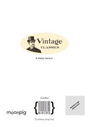 Greeting Cards - British The Original Vintage Classic Personalised Name Card - Image 4