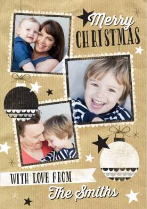 Greeting Cards - Family Christmas Card - Use Your Family Photos - Image 1