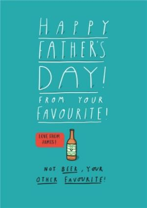 Greeting Cards - Father's Day Card - Father's Day - Beer - Image 1