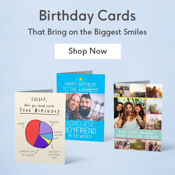 Personalized Greeting Cards For Every Occasion View All